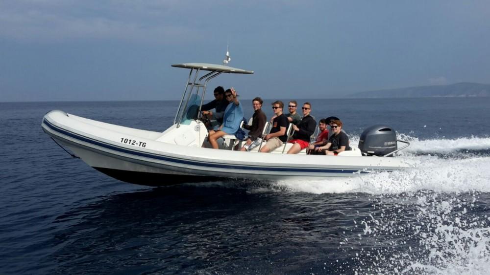 Verhuur Rubberboot in Split - kanula lolivul