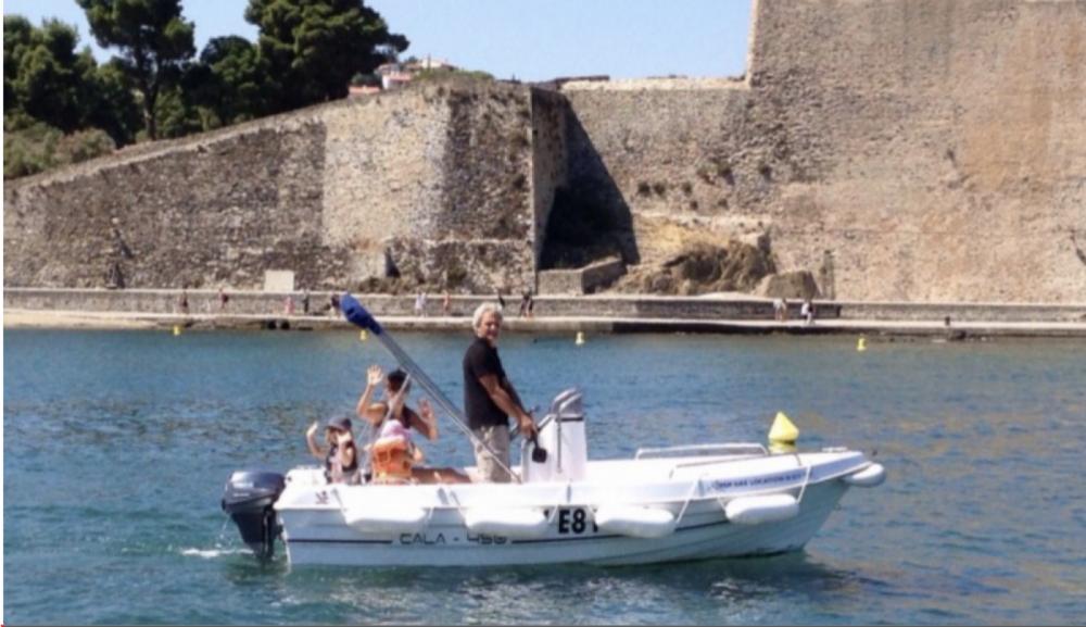 Louer Bateau à moteur avec ou sans skipper Dipol Class à Collioure