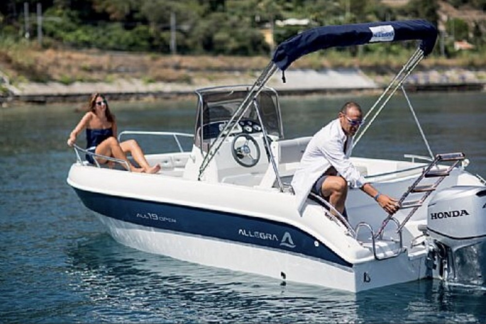 Motorboot mieten in Collioure - Allegra Boats All 19 Open