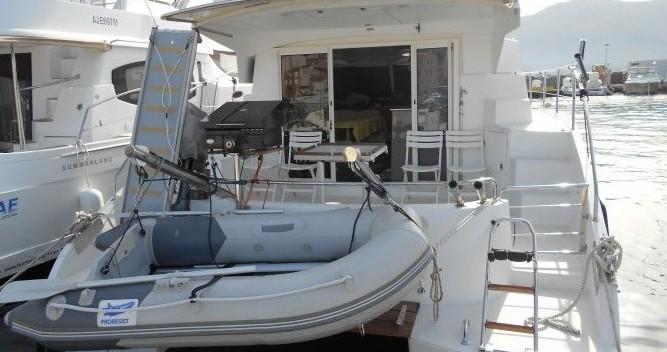 Location yacht à Saint-Florent - Fountaine Pajot Highland 35 sur SamBoat