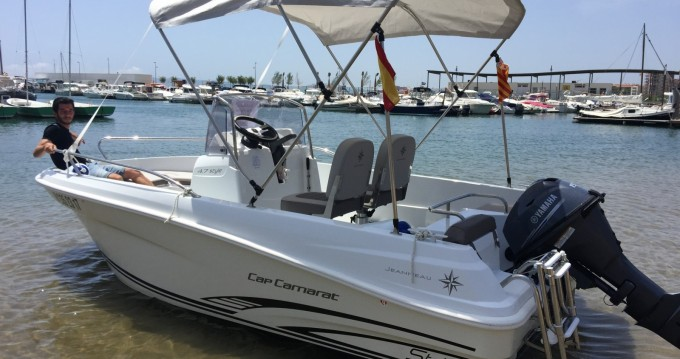 Location bateau l'Estartit pas cher Cap Camarat 4.7 CC