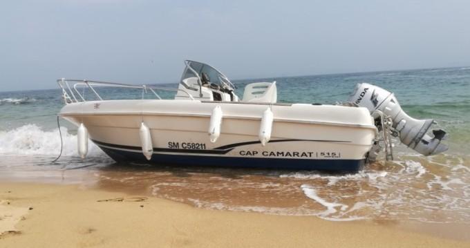 Louez un Jeanneau Cap Camarat 515 à Saint-Malo