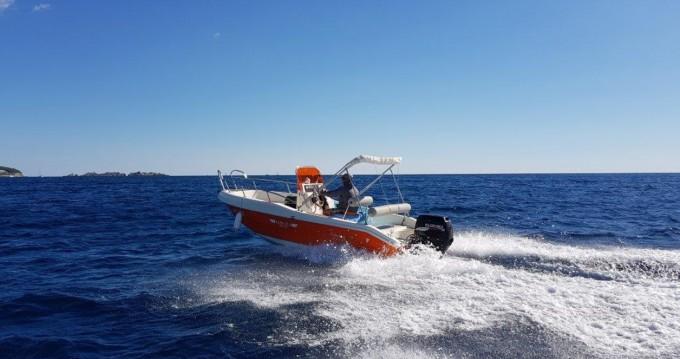 Location bateau Dubrovnik pas cher Rascala 17