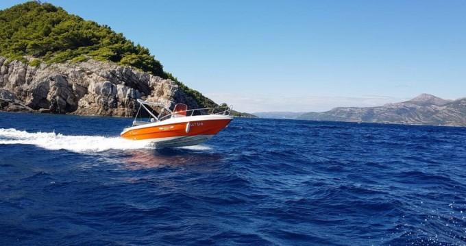 Location bateau Blu-Blu Rascala 17 à Dubrovnik sur Samboat