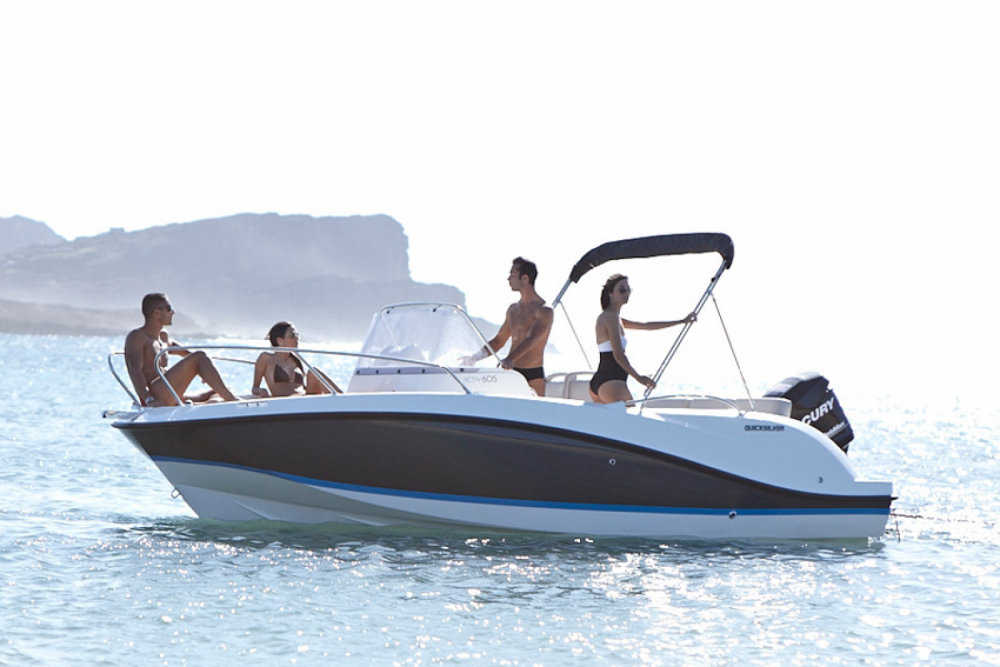 Rental Motor boat in Quimiac - Quicksilver Quicksilver 605 Open