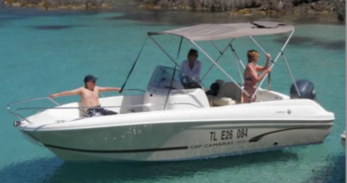 Barca a motore a noleggio Hyères al miglior prezzo