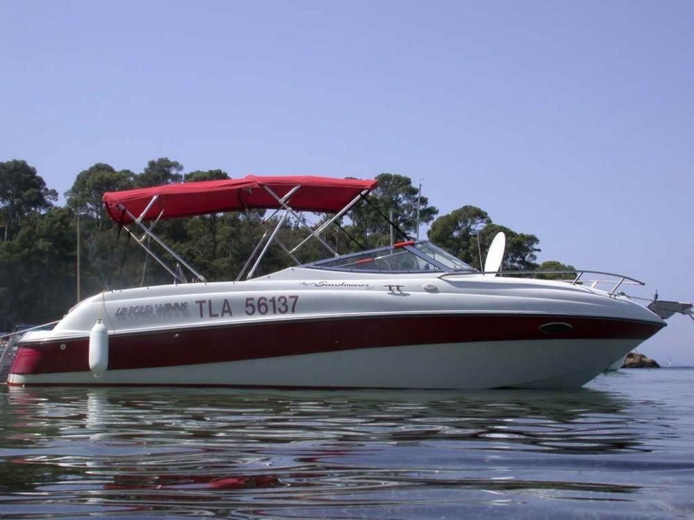 Motorboot mieten in Hyères - Four Winns Sundowner 225