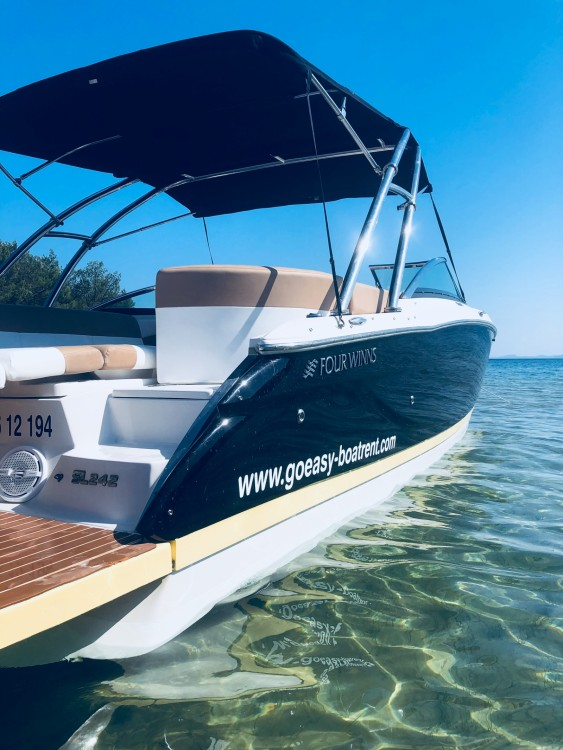 Boat rental Zadar cheap SL 242