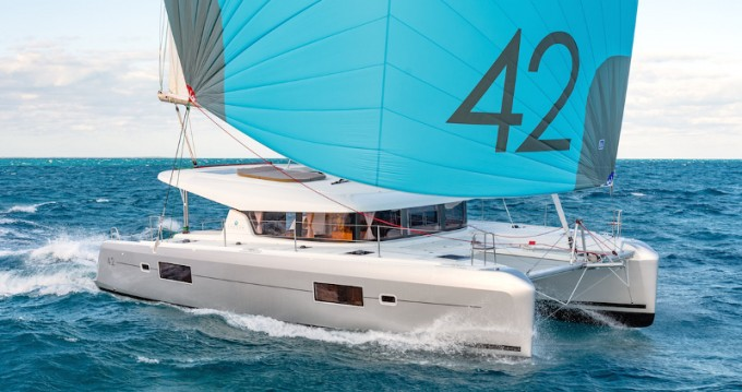 Rental Catamaran in Road Town - Lagoon Lagoon 42