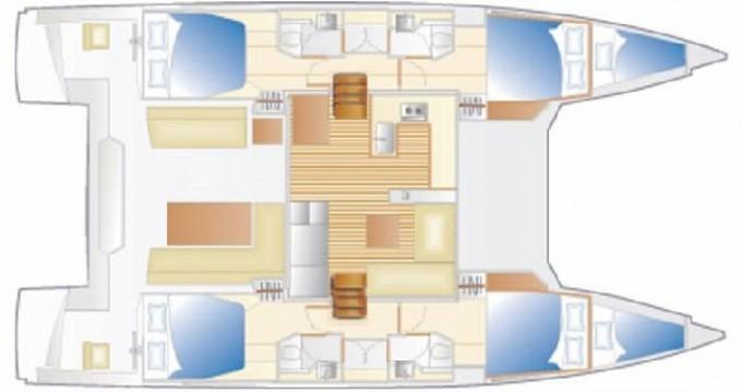 Boat rental Terranoa/Olbia cheap Nautitech 46