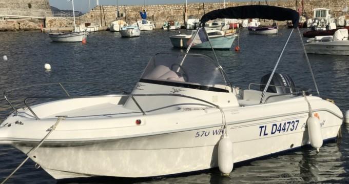 Location Bateau à moteur à Toulon - Pacific Craft Pacific Craft 570 WA