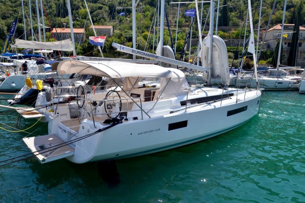 Rent a Jeanneau Sun Odyssey 440 ACI Marina Dubrovnik