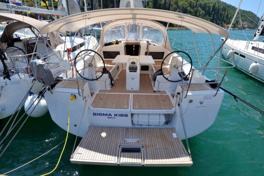 Jeanneau Sun Odyssey 440 between personal and professional ACI Marina Dubrovnik