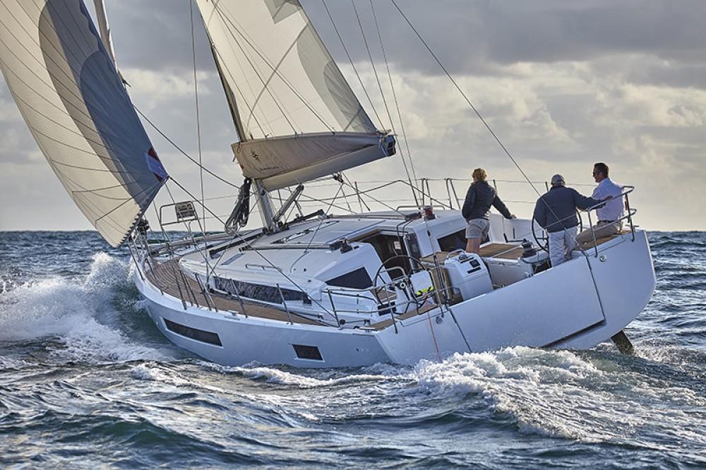 Jeanneau Sun Odyssey 490 entre particuliers et professionnel à Leucade