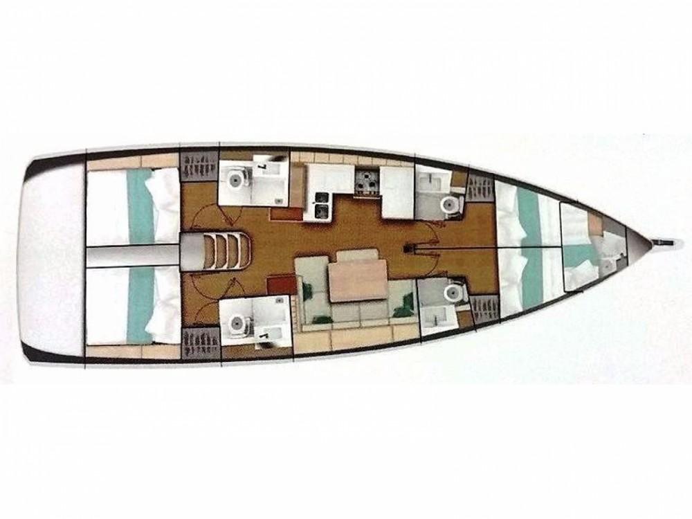 Louez un Jeanneau Sun Odyssey 490 à Leucade