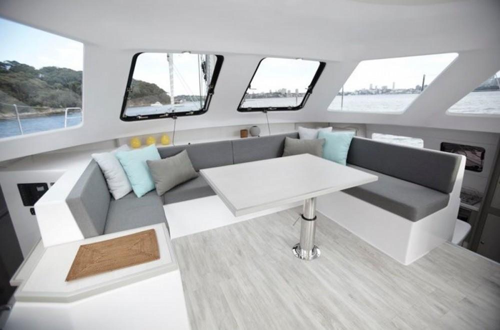 Verhuur Catamaran Seawind met vaarbewijs