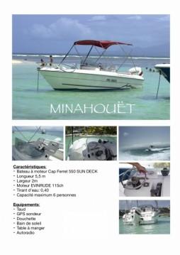 Location bateau B2 Marine Cap Ferret 550 Sun Deck à Pointe-à-Pitre sur Samboat