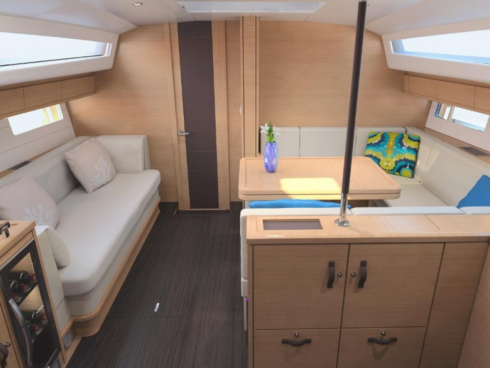 Boat rental Marmaris cheap Jeanneau 54