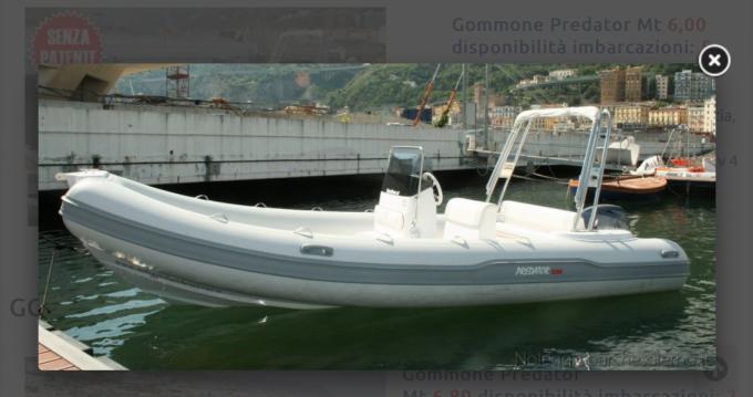 Louer Semi-rigide avec ou sans skipper Italboats à Salerno
