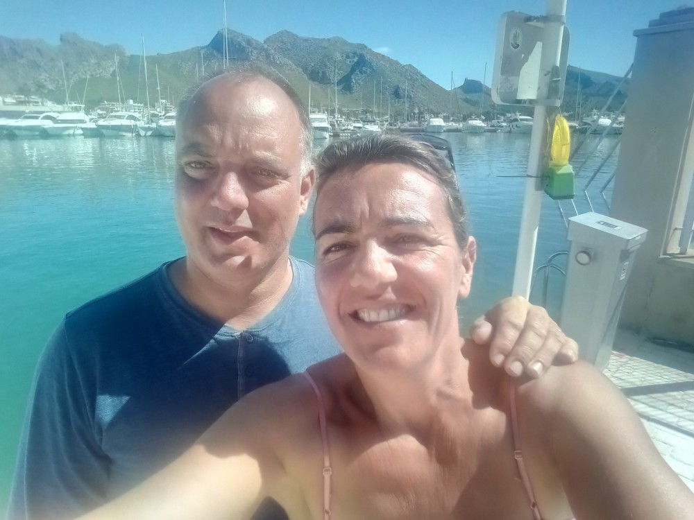 Hire Sailboat with or without skipper Plan-Caroff Corfu