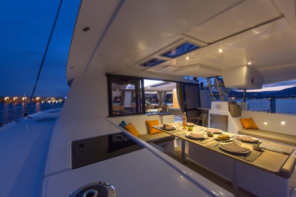 Boat rental Rodney Bay Marina cheap Helia 44