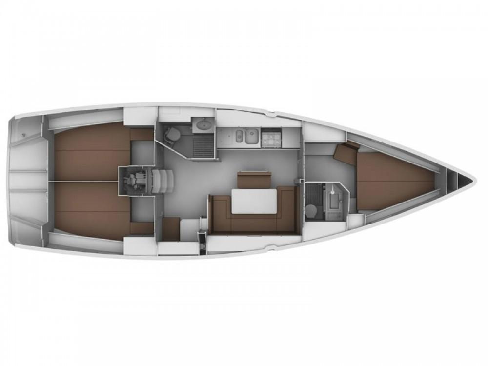 Bavaria Bavaria Cruiser 40 between personal and professional Marina de Alimos