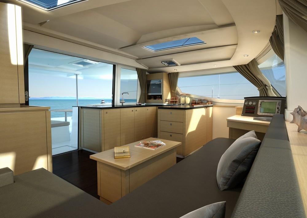 Rental Catamaran in Saint-Mandrier-sur-Mer - Fountaine Pajot Helia 44