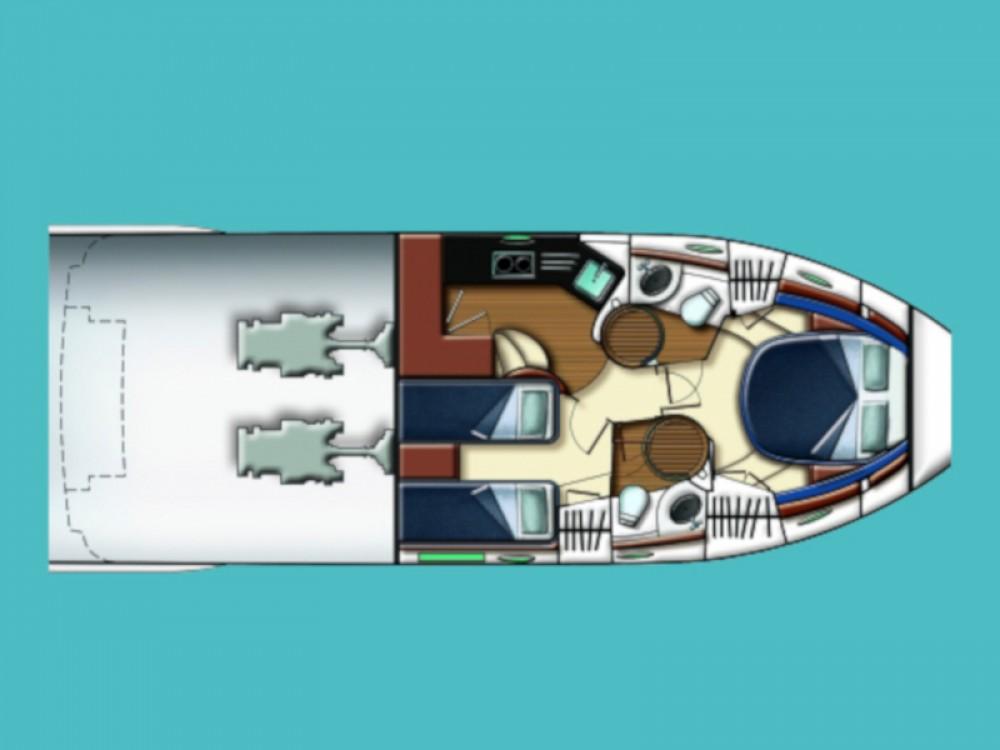 Rental yacht Marina Baotić - Azimut Azimut 43 Fly on SamBoat