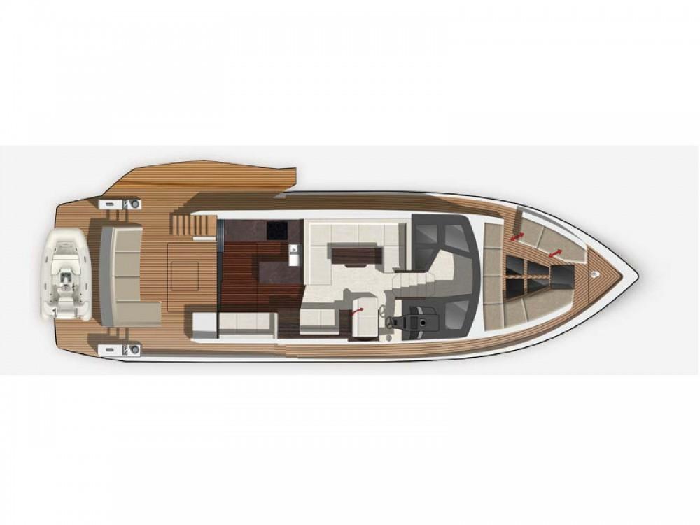 Boat rental Marina Baotić cheap Galeon 500 Fly