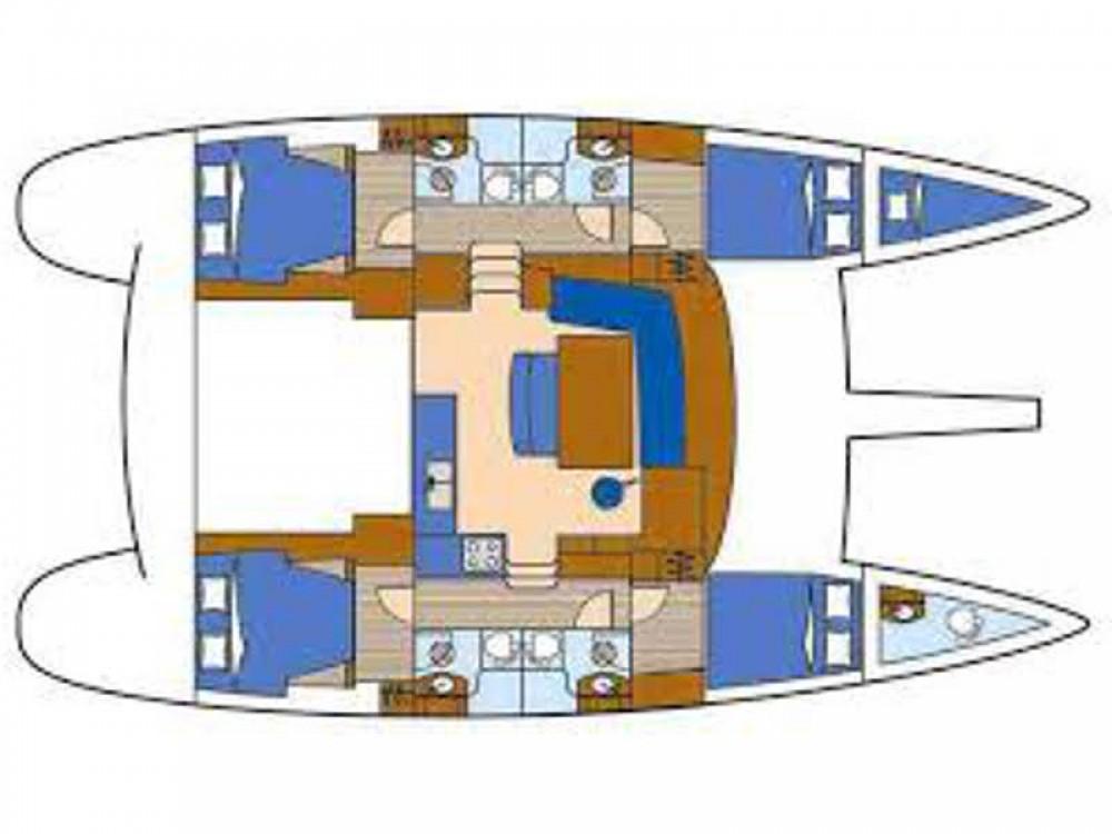 Boat rental Badalona cheap Lagoon 440