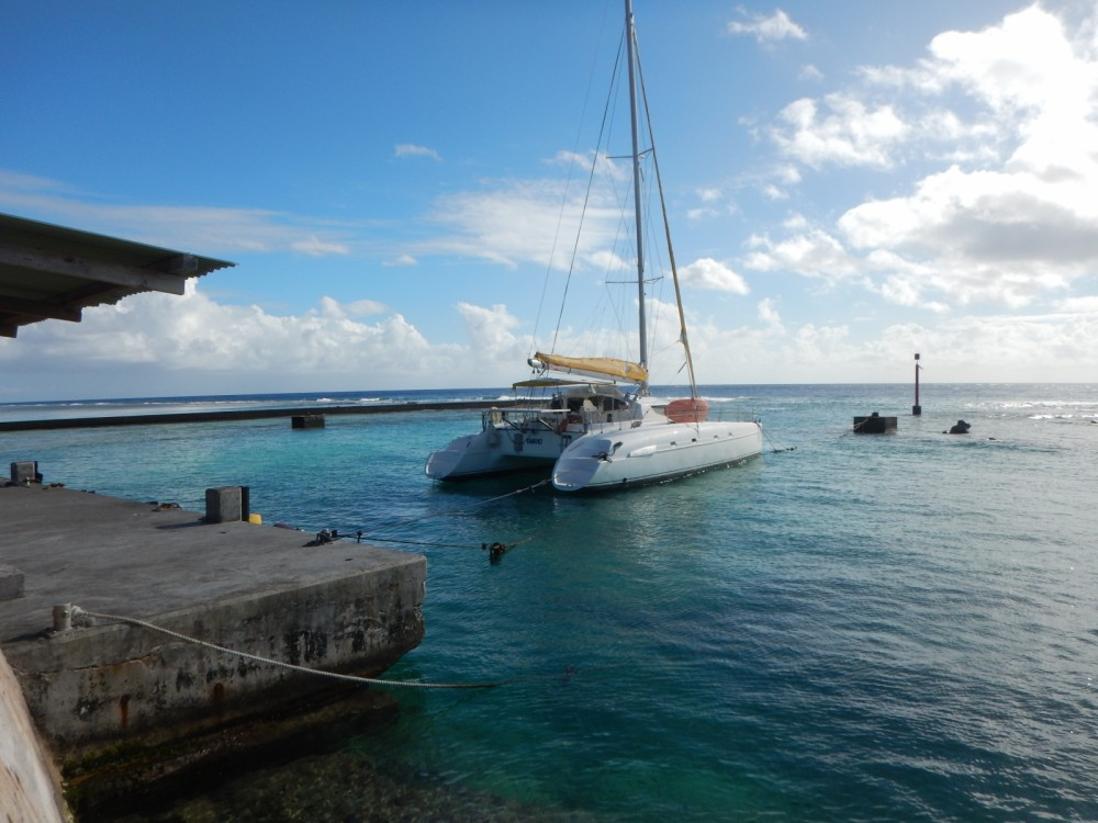 Hire Catamaran with or without skipper Fountaine Pajot Papeete
