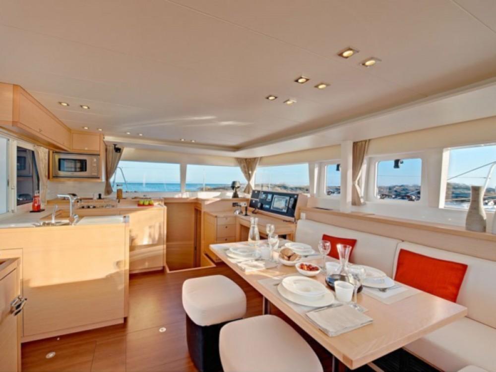 Catamaran for rent Marina Gouvia at the best price