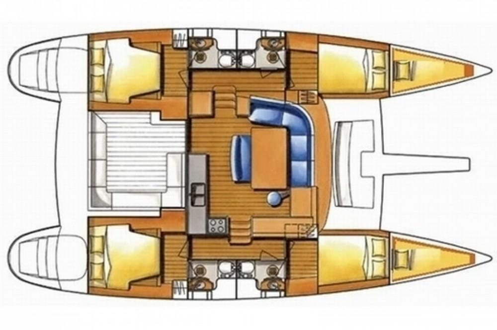 Location Catamaran à Marina Gouvia - Lagoon Lagoon 450