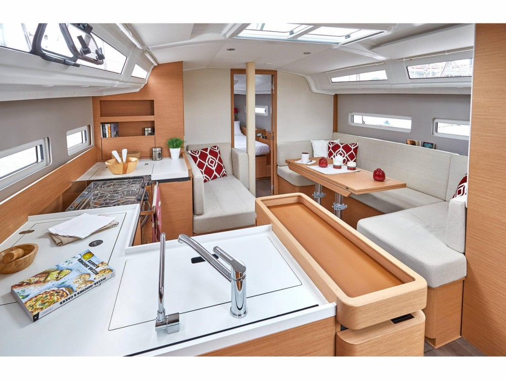Boat rental Orhaniye cheap Sun Odyssey 410