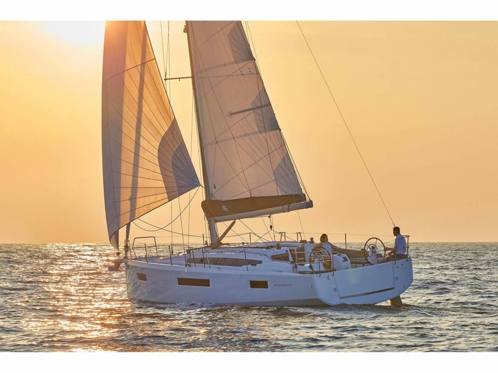 Rental Sailboat in Orhaniye - Jeanneau Sun Odyssey 410