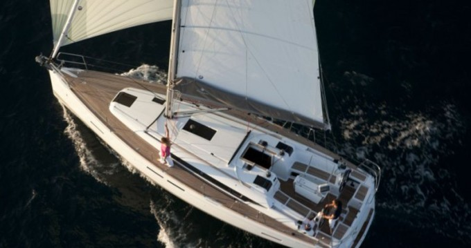 Jeanneau Sun Odyssey 409 between personal and professional Kavala