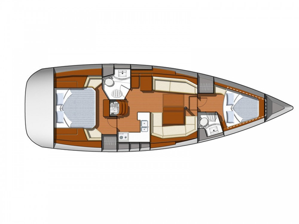 Boat rental Alimos Marina cheap Sun Odyssey 42DS