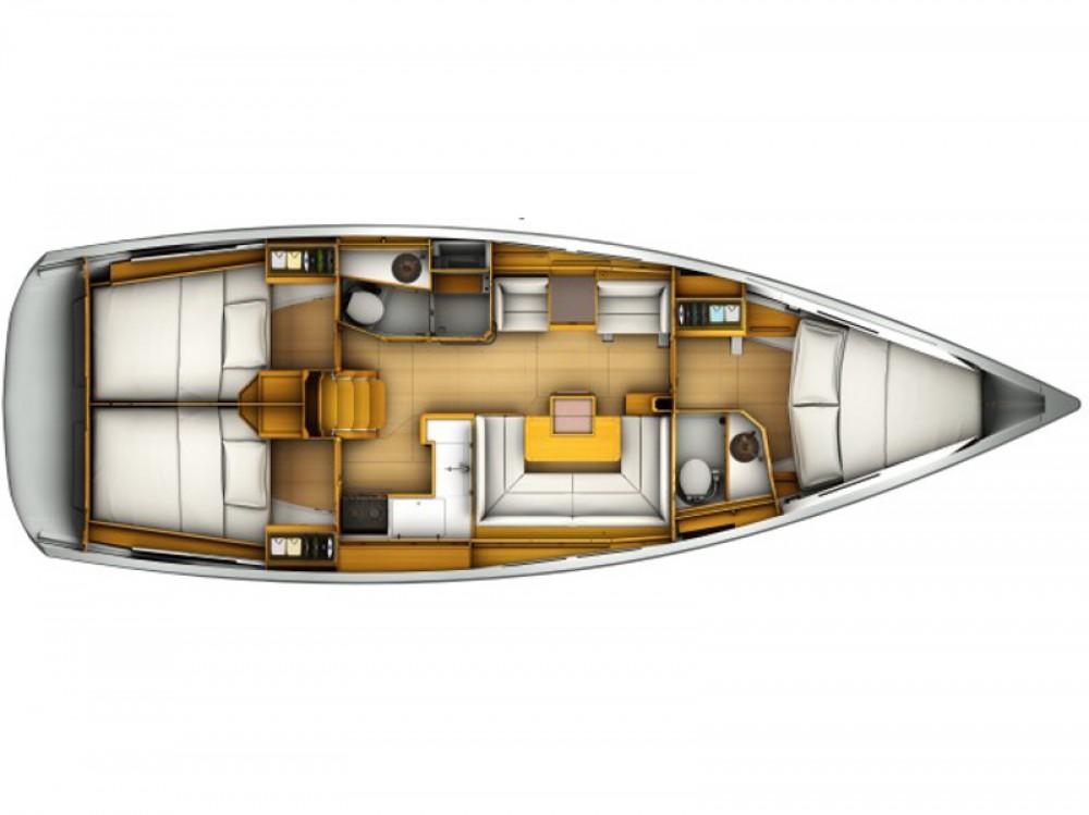 Rental Sailboat in Greece - Jeanneau Sun Odyssey 419