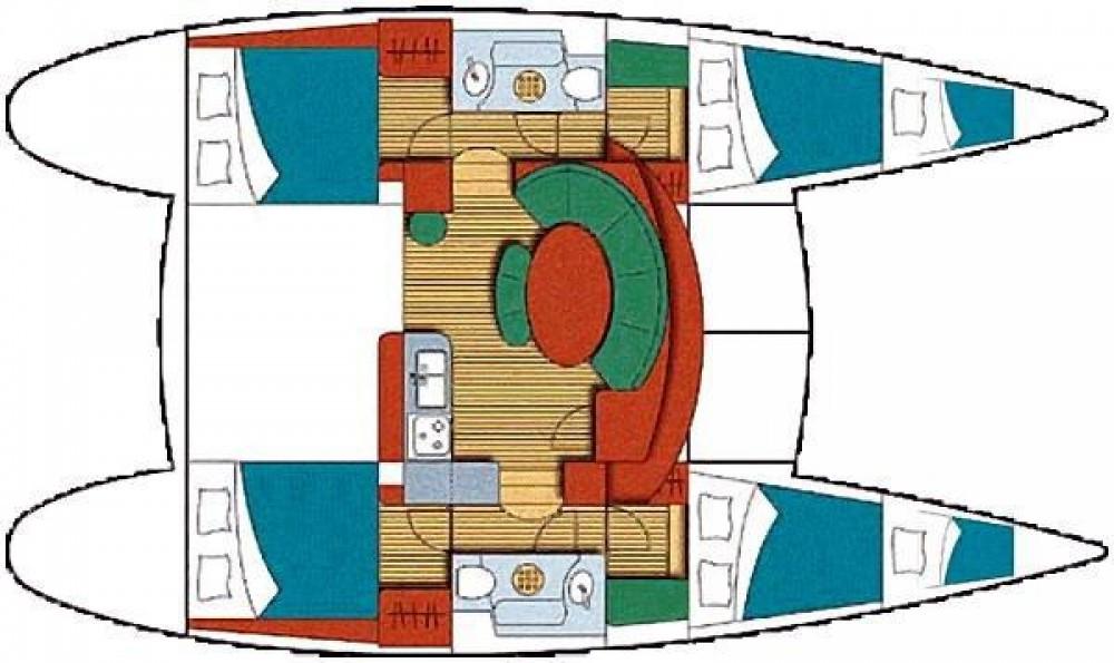 Catamaran à louer à Tropea au meilleur prix