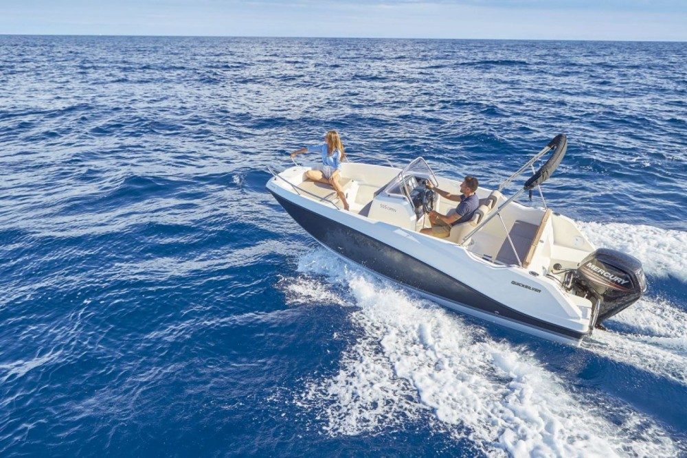 Quicksilver Activ 555 Open between personal and professional Trogir
