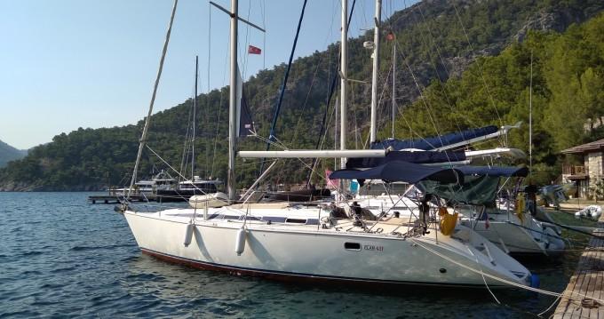 Noleggio barche Rodi economico Elan 431