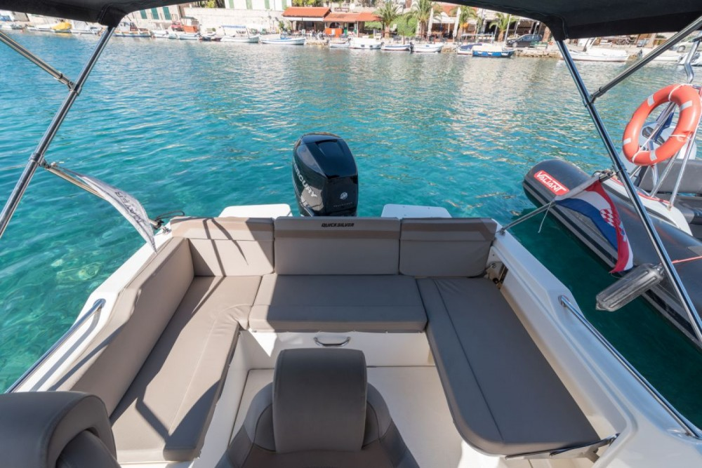 Boat rental Quicksilver Activ 755 Sundeck in Trogir on Samboat