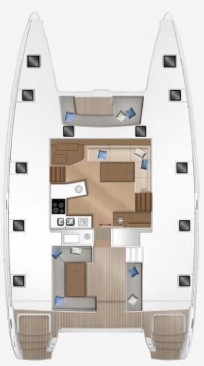 Rental yacht Croatia - Lagoon Lagoon 450 F - 4 + 1 cab. on SamBoat