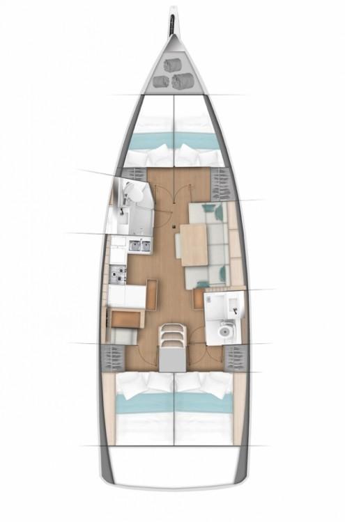 Location bateau Jeanneau Sun Odyssey 440 à Split sur Samboat