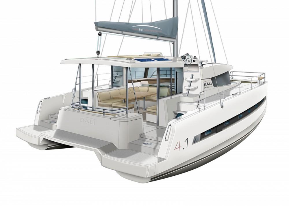 Boat rental Catana Bali 4.1 - 4 cab. in Croatia on Samboat