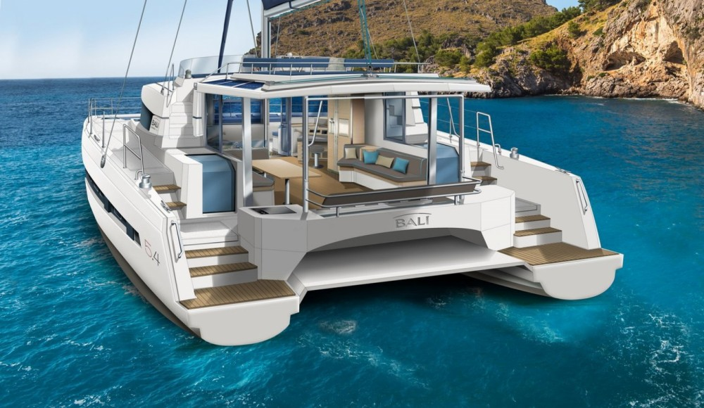 Rental Catamaran in Marina Kaštela - Catana Bali 5.4 - 5 + 2 cab