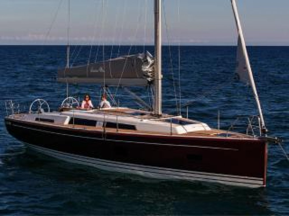 Boat rental Croatia cheap Hanse 388