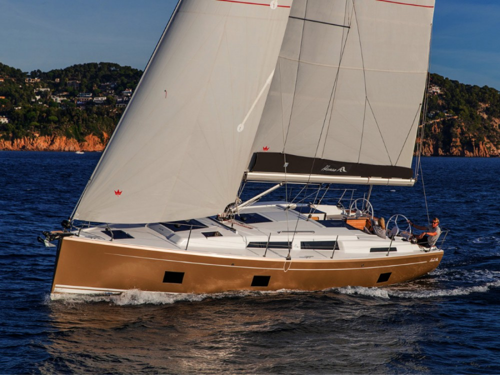 Boat rental Croatia cheap Hanse 418 - 3 cab.
