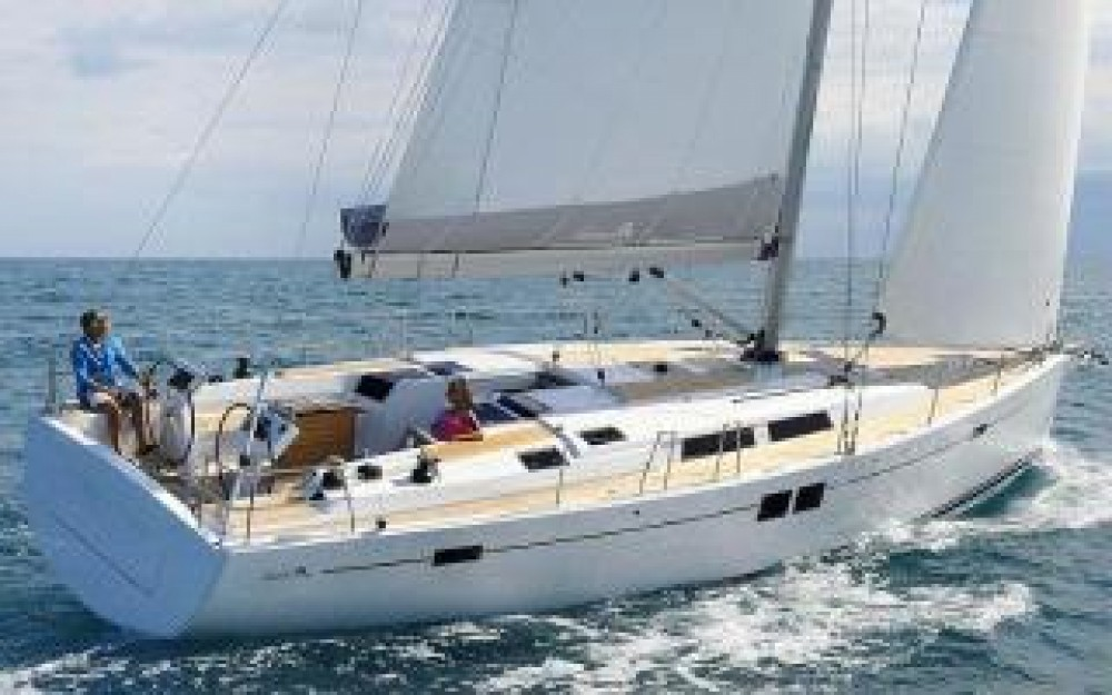Boat rental Hanse Hanse 508 - 5 + 1 cab. in Croatia on Samboat