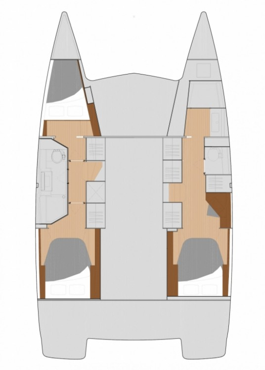 Boat rental Fountaine Pajot Fountaine Pajot Lucia 40 in Tortola on Samboat